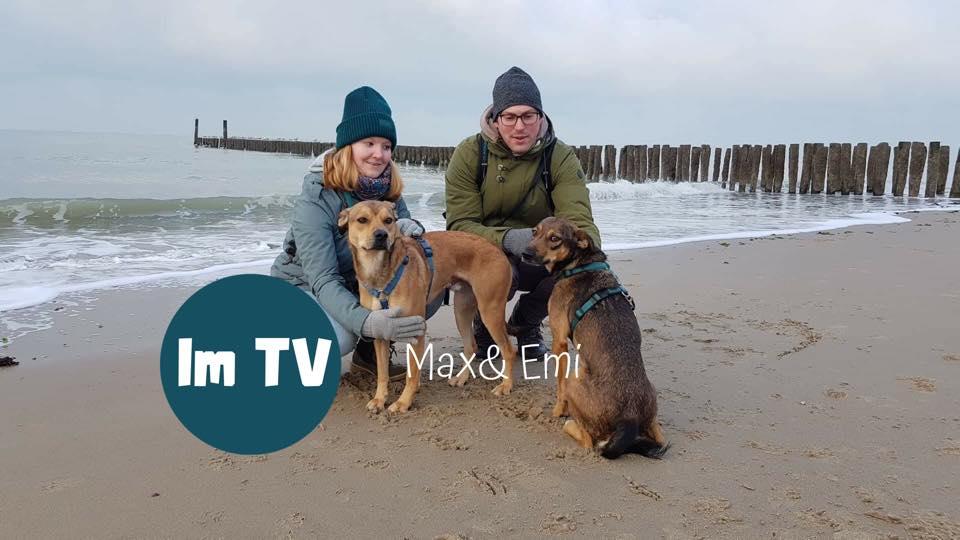Emi  und Max im Fernsehen