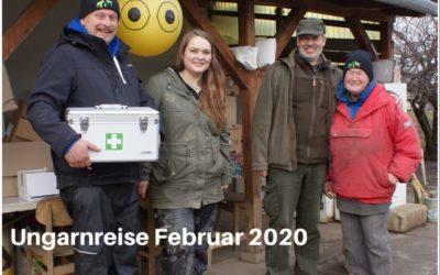 Spendenfahrt im Februar 2020 zu dem Tierheim Koborka mit dem HundesportvereinWillingen
